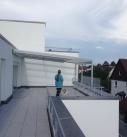 Die Terrassenüberdachung in Bietigheim