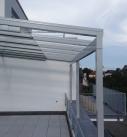 Detailansicht Traufe am Terrassendach