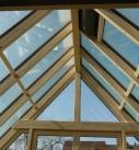 Holz-Aluminium Wintergarten Innenansicht