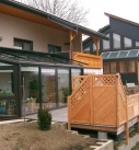 Wintergarten in Künzelsau Innenansicht