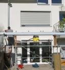 Montage am Terrassendach in Mosbach