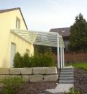 Ein wunderbares Terrassendach in Remchingen