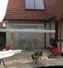 Montagebeginn in Remseck