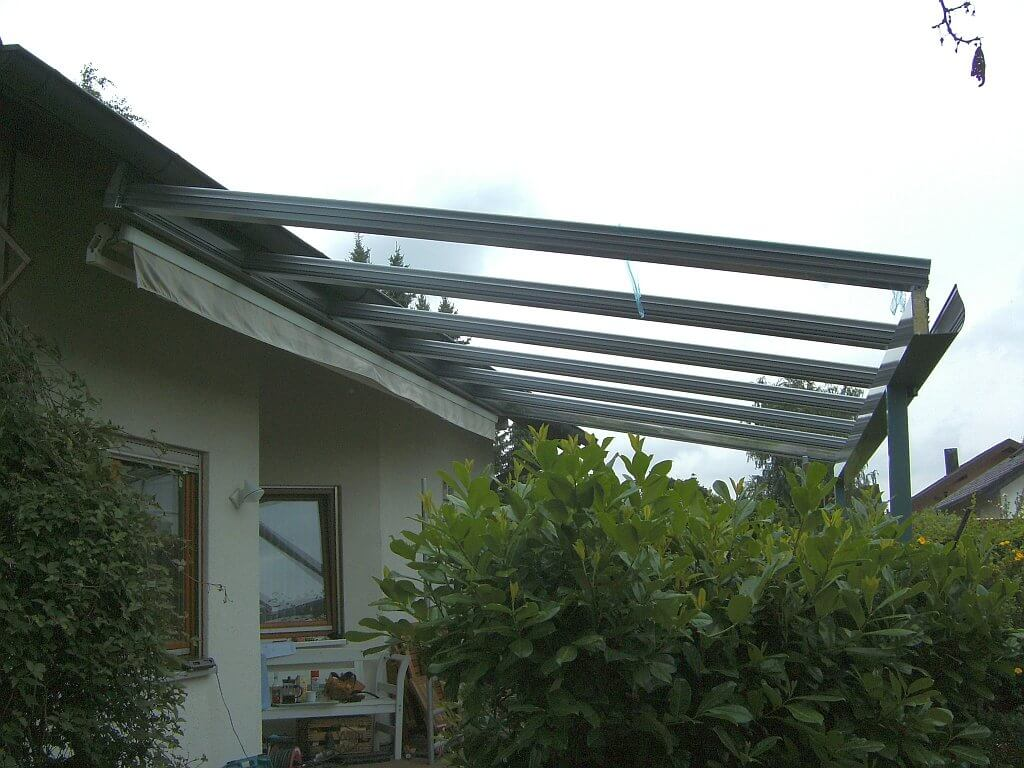 Terrassendach Rutesheim Aluminium Wohlfuehlwintergarten