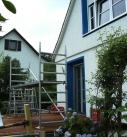 Montagebeginn in Walheim