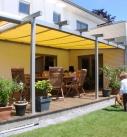 Terrassenschiebedach mit Markise