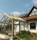 Aufbau vom Wintergarten in Schwaigern 2