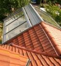 Dachkonstruktion von oben 2