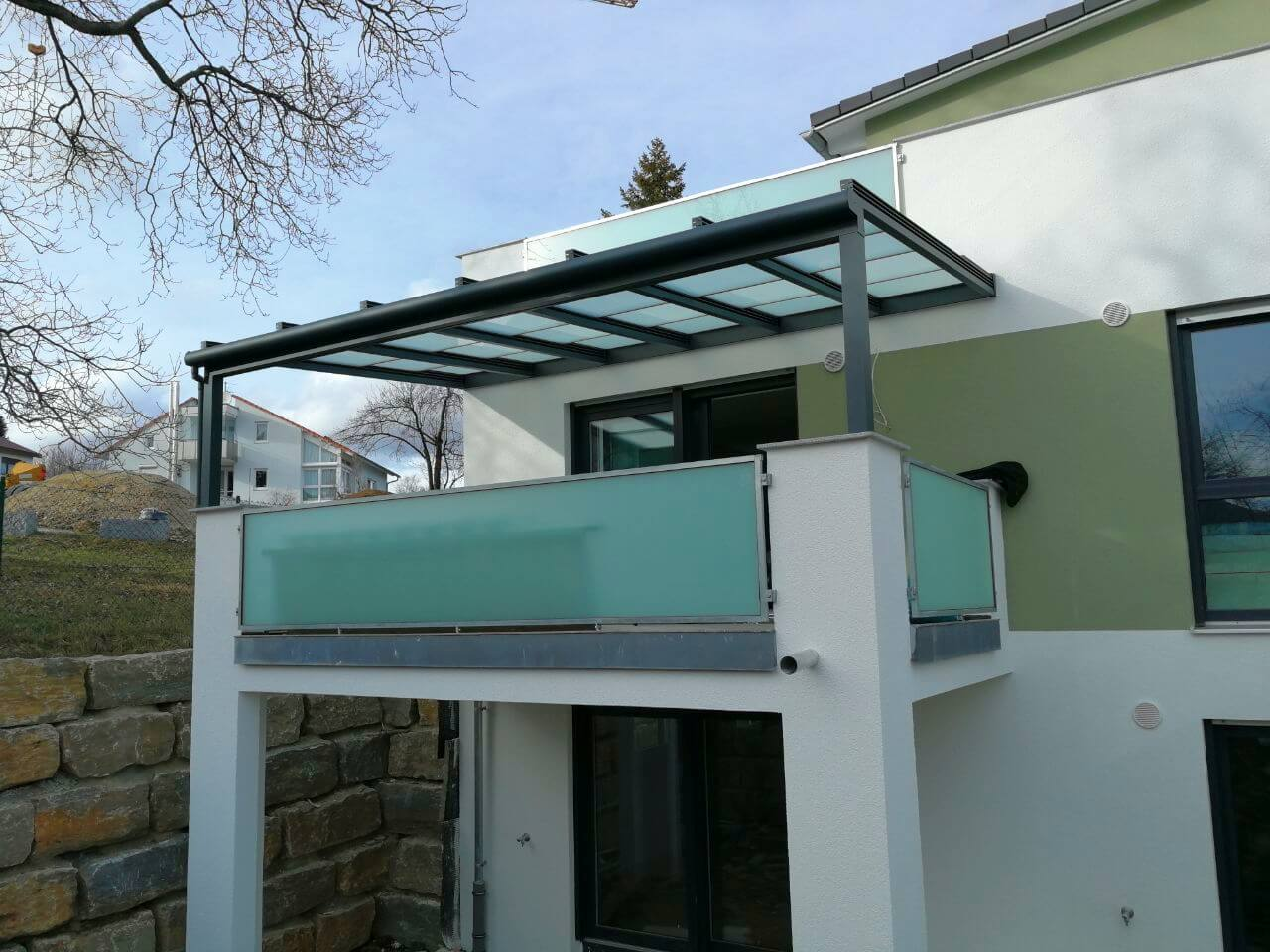 Terrassenschiebedach - Glasdach | Wohlfuehlwintergarten