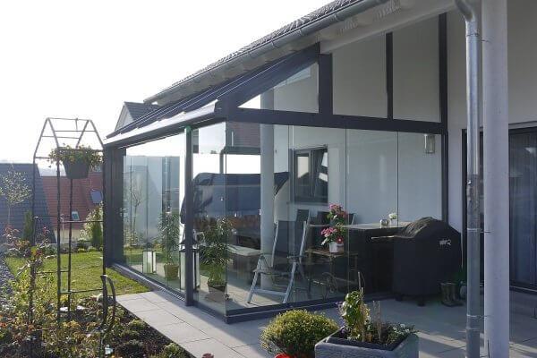 Kaltwintergarten-Glasoase