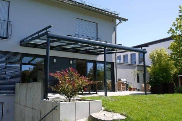 flexibles Terrassendach