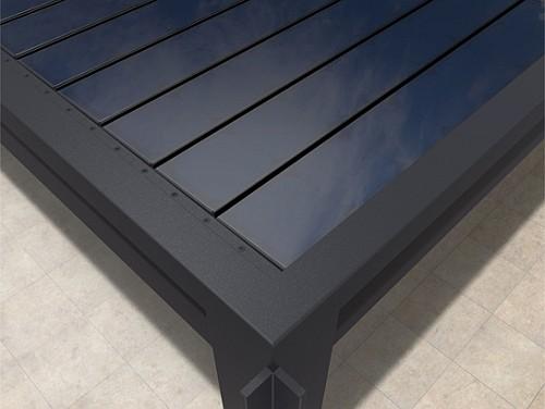 Solar Lamellendach